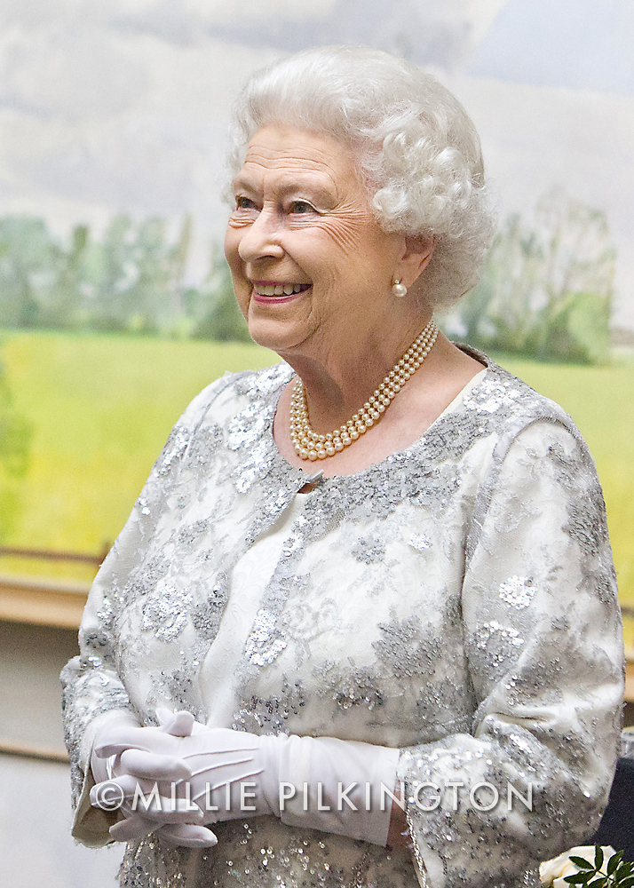 Portrait of HM the Queen