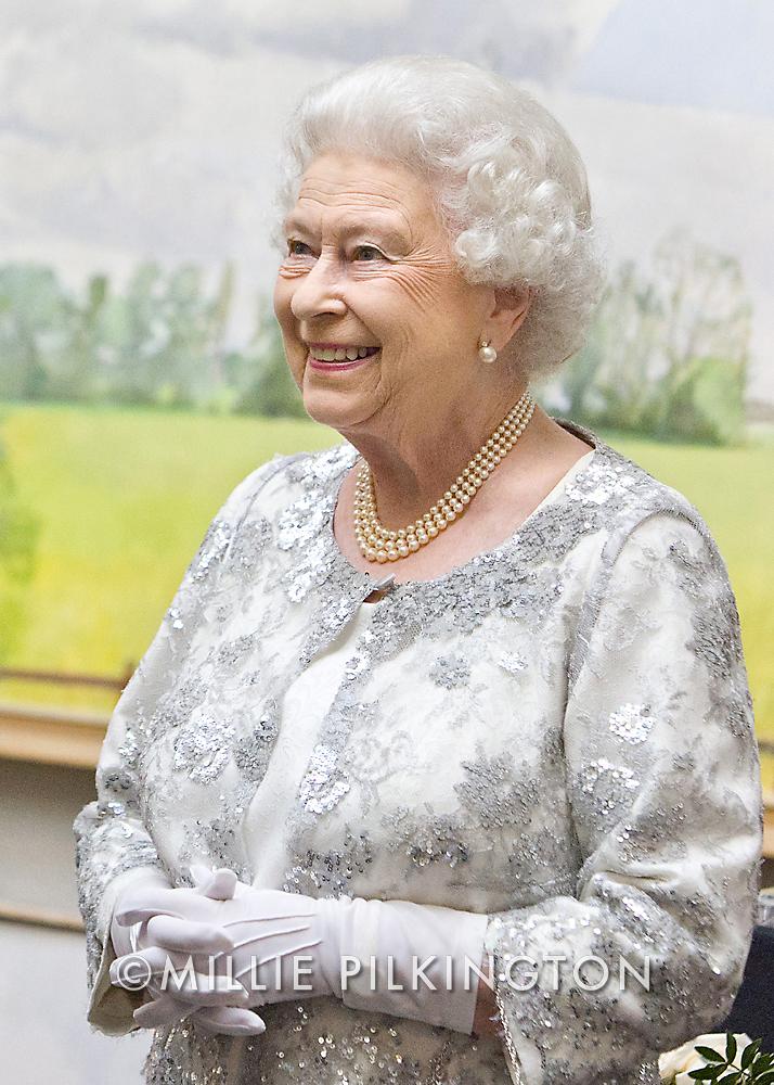 Portrait of HM the Queen