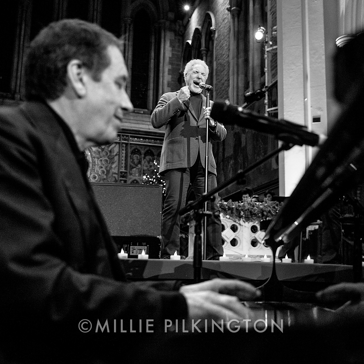 Sir Tom Jones Jools Holland portrait photography