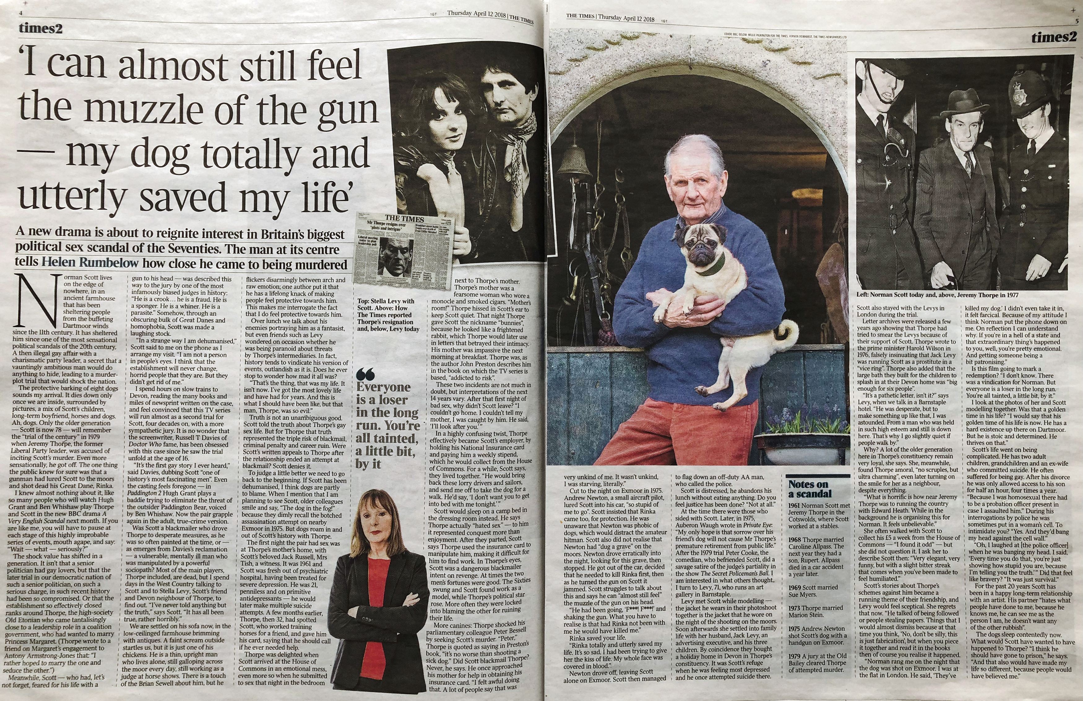Norman Scott & Jeremy Thorpe Affair