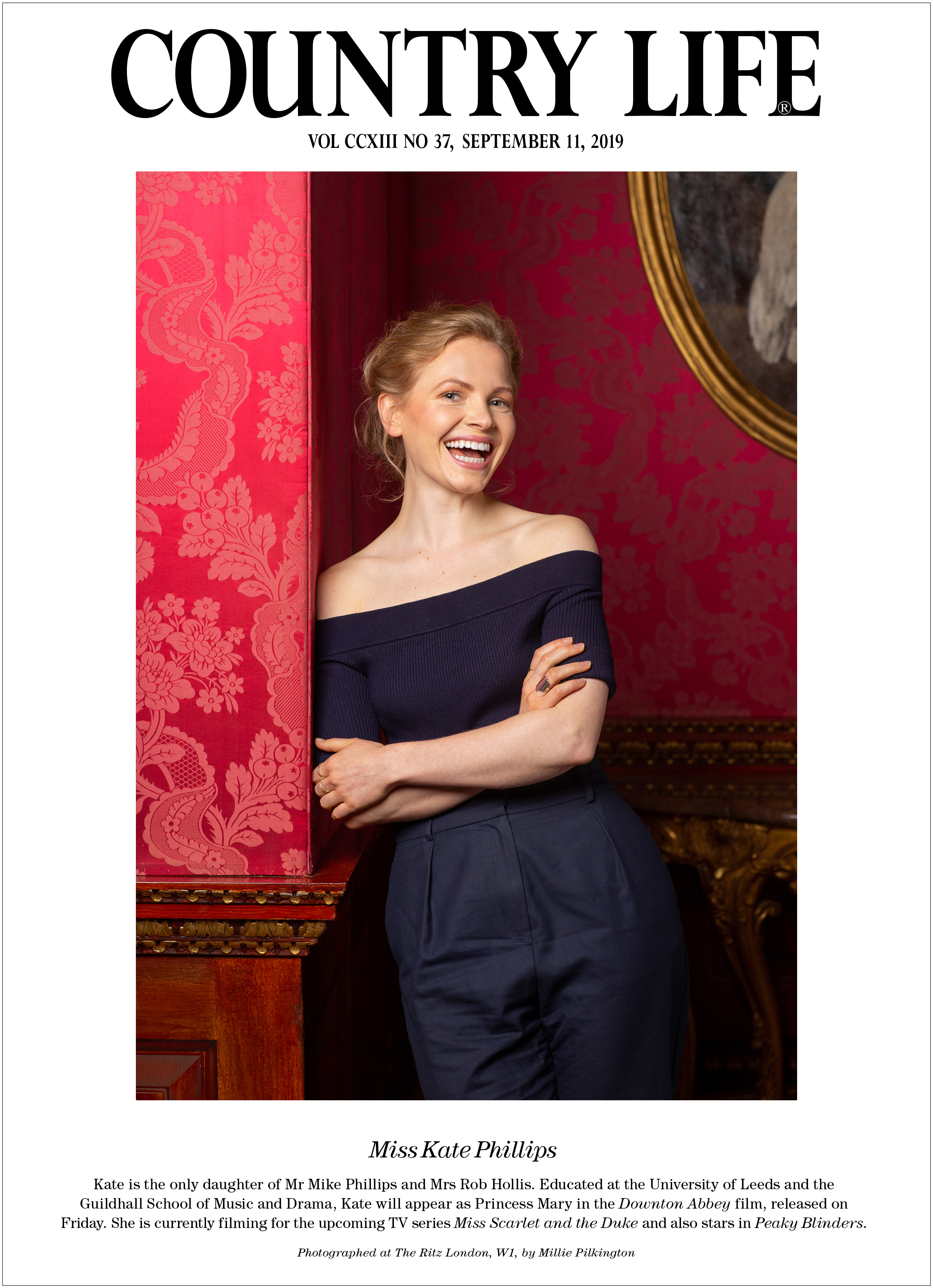 Kate Phillips, actor, Downton Abbey