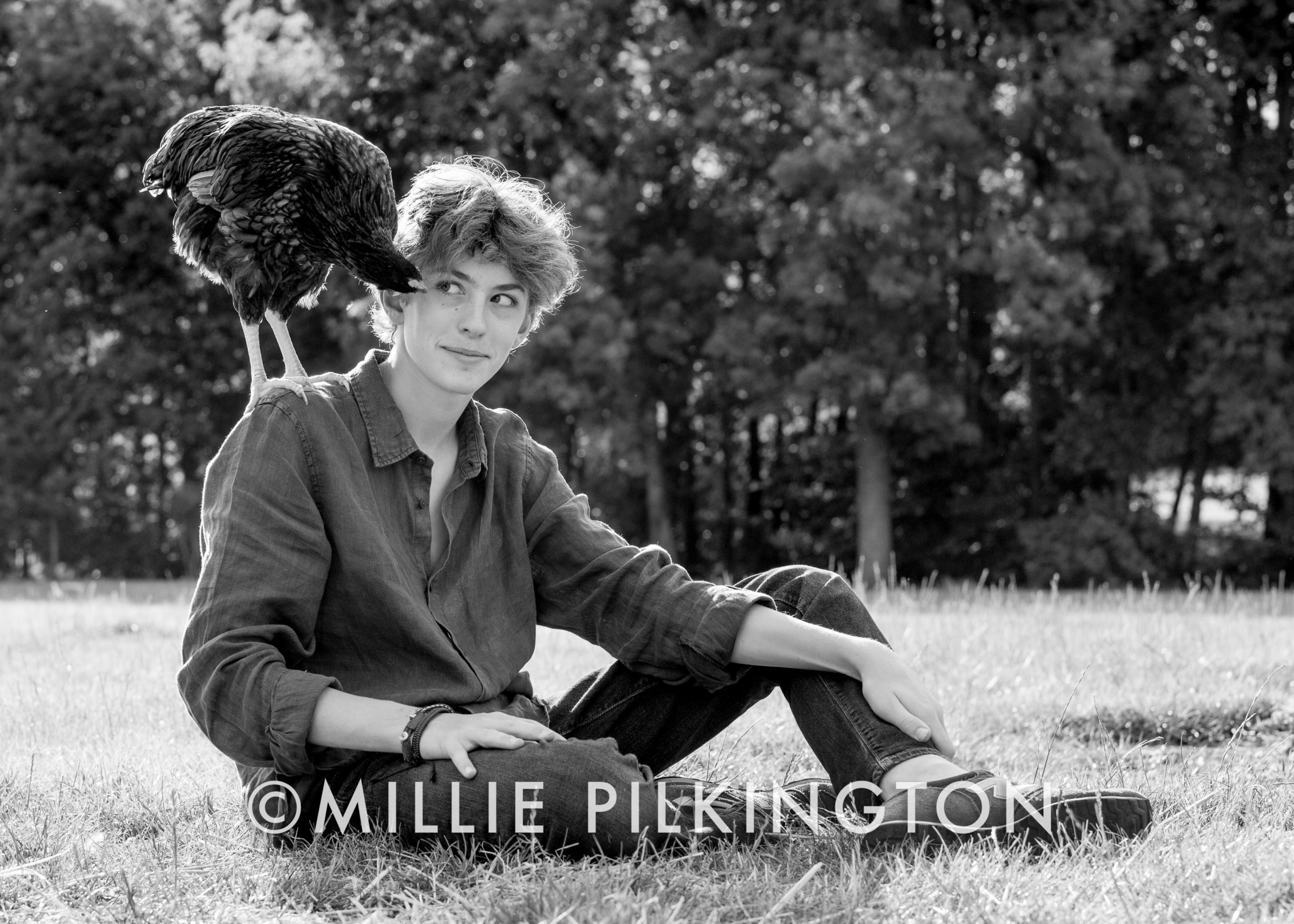 children photography with pets, Berkshire